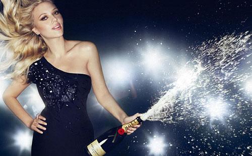 Дарим шампанское к премиум программам